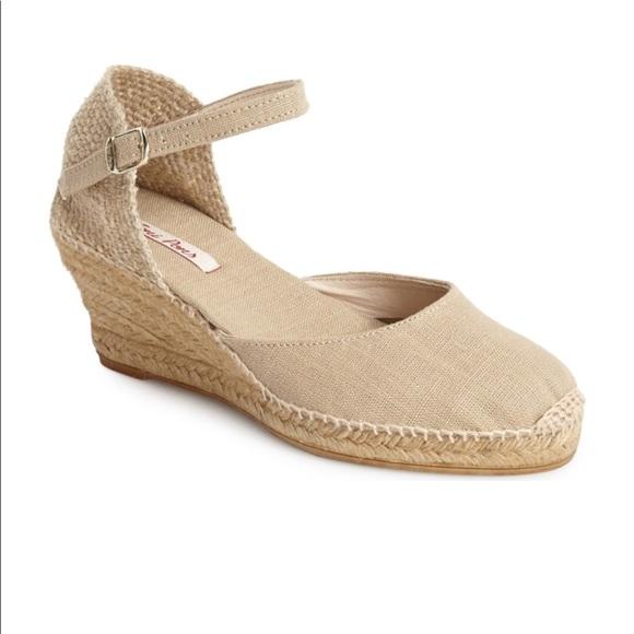 c263e4977c2 Toni Pons Caldes linen wedge espadrille sandal